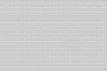 Gray Brick Wall, Vector Illust...