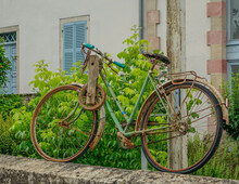 Old Decorative Bicycle