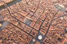 Aerial View Of Florence's Oran...