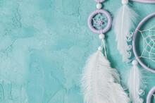 Lilac Cream White Dream Catcher