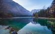 Bluntautal, Salzburger Land, Österreich, an einem Herbstmorgen