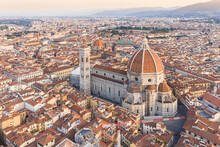 Aerial View Of Florence's Cath...