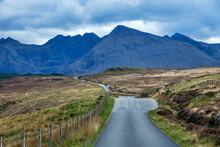 Road Photographed In Scotland,...