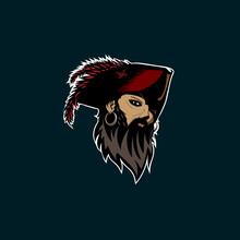Pirate Head Vector Illustration