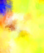 Creative abstract painting. Background with artistic brush strokes. Colorful and vibrant illustration. Painted art.