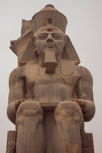 Statue Of Ramses II In Front O...
