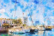 Painting Of Puerto De Morgan A...