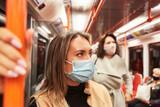 Maskenpflicht für Fahrgäste im öffentlichen Nahverkehr