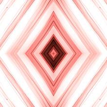 Grunge Rhombus. Geometric Seamless Pattern.
