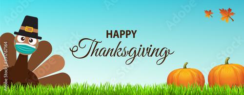 Fototapeta Thanksgiving 2020 obraz
