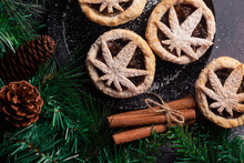 Mince Pie Infused With Cannabis For Christmas Holiday