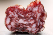 Salami With Chunks Of Fat In R...