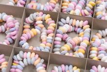 Sugar Bracelets In A Cardboard Box