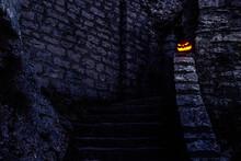 Carved Halloween Pumkin On Tour