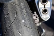 Screw Nail Puncturing Motorcyc...