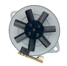 Small Electric Motor With Gear And Impeller