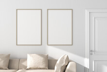 Two Vertical Picture Frames Mo...