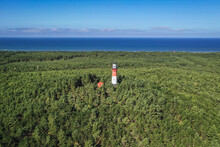 Drone View Of Baltic Sea Light...