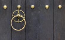 Solid Round Metal Door Knocker
