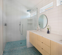 En Suite Master Bathroom With ...