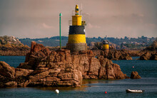 Lighthouse Near The Island Of Brehat, Brittany
