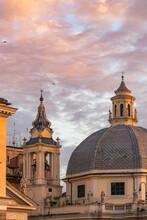 Basilica In Piazza Del Popolo ...