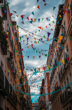 Walk Through The Colorful Stre...