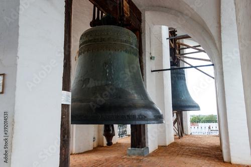 Close-up of orthodox church bell Billede på lærred