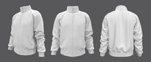 White Tracksuit Top Mockup In ...
