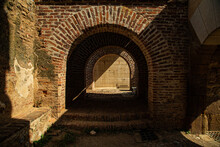 Detail Of A Red Brick Roman Ar...