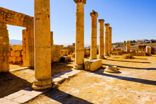 Ancient Roman Columns In The C...