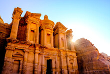 The Monastery Of The Ancient Ruined City Of Petra, Jordan
