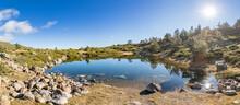 Small Lagoon Of Peñalara. Set...