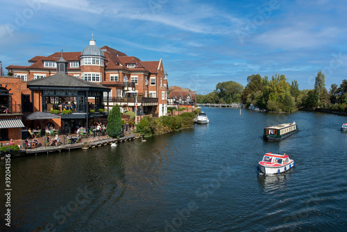 Foto River Thames at Windsor, Berkshire, England, UK