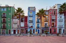 Villajoyosa's Colorful Houses ...