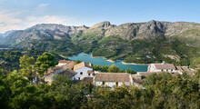 Panoramic Of The Town Of Guada...