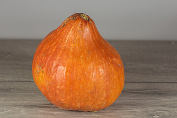 Ripe pumpkin ready for cooking. Vegan food.