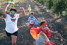 Children Run Around Pretending To Be Superheroes And Fight Demons