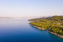Morning Aerial View Of Marjan ...