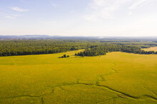 Aerial View Of Nature Reserve ...