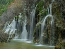Waterfall In The Cuervo River Waterfalls
