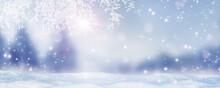 Idyllische Winterlandschaft Un...
