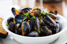 Fresh Mussels From The Isle Of...