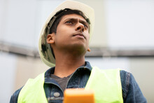 Young Construction Engineer Wi...