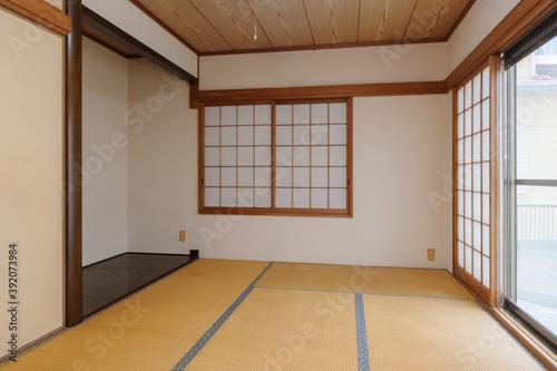 畳の部屋 床の間 Fototapeta