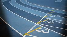 Athletics Track, Ready For Com...