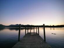 Sunset Over Derwent Water, Kes...