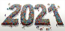 2021 - Foule De La Nouvelle Année C