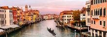 Romantic Venice Town Over Suns...