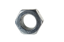 Grunge Metal Nut Close Up Isol...